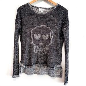 Pink Rose | Skeleton Sweater